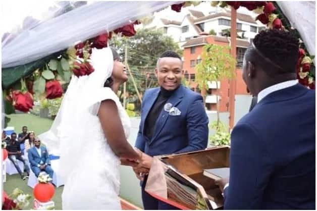 otile brown wedding