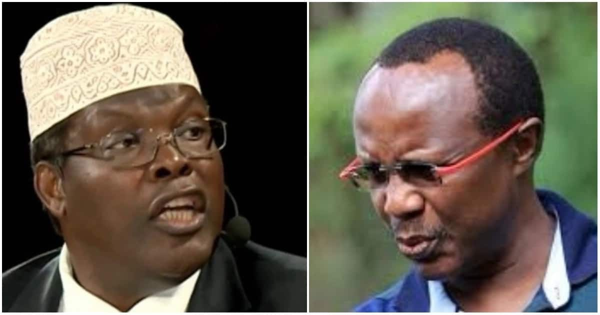 Lawyer Miguna Miguna and NASA coalition's top strategist David Ndii clash over the famous Harambee House handshake deal between President Uhuru Kenyatta and Opposition leader Raila Odinga.