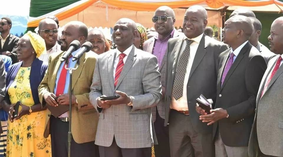 We have no political camps in our party, Ruto declares after Uhuru's lecture