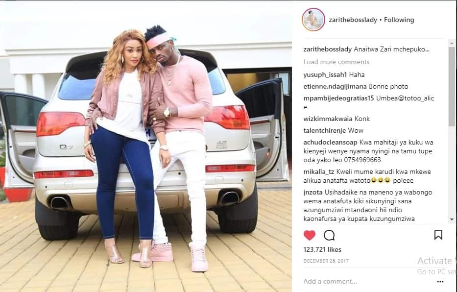 Neither Zari nor Diamond has deleted footprints of their love life, are we being fooled?