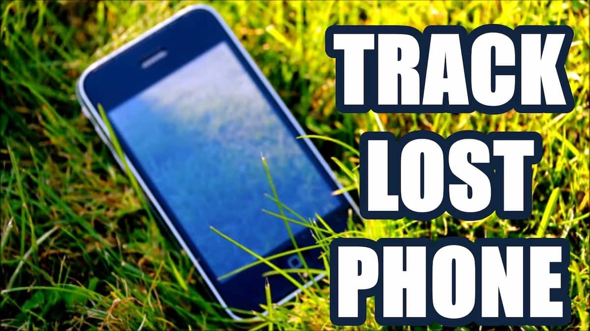 Remotely lock and track a lost phone