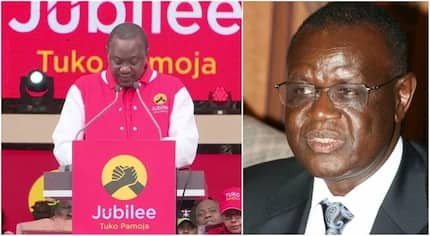 Governor TEARS into Uhuru Kenyatta's ally after being linked to Raila
