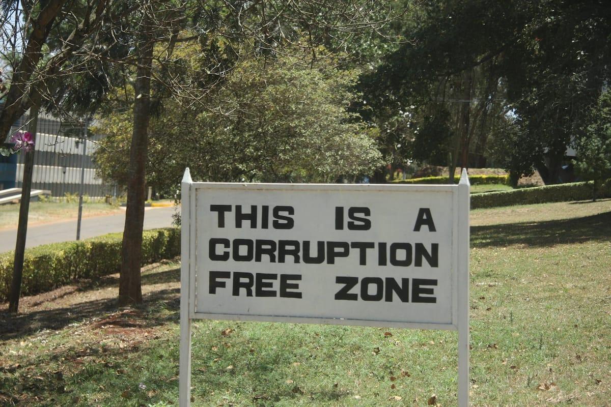 corruption problems