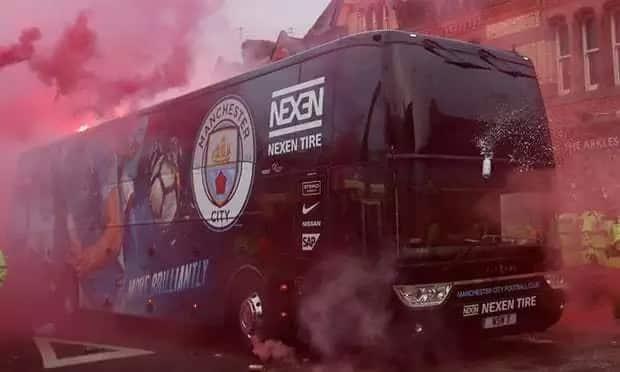 Mashabiki wa Liverpool kuadhibiwa vikali baada ya kushambulia basi la wachezaji wa Man City
