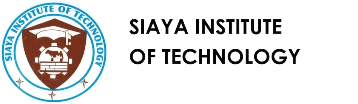 siaya institute of technology admission letters siaya institute of technology fee structure siaya institute of technology courses siaya institute of technology contacts siaya institute of technology application form