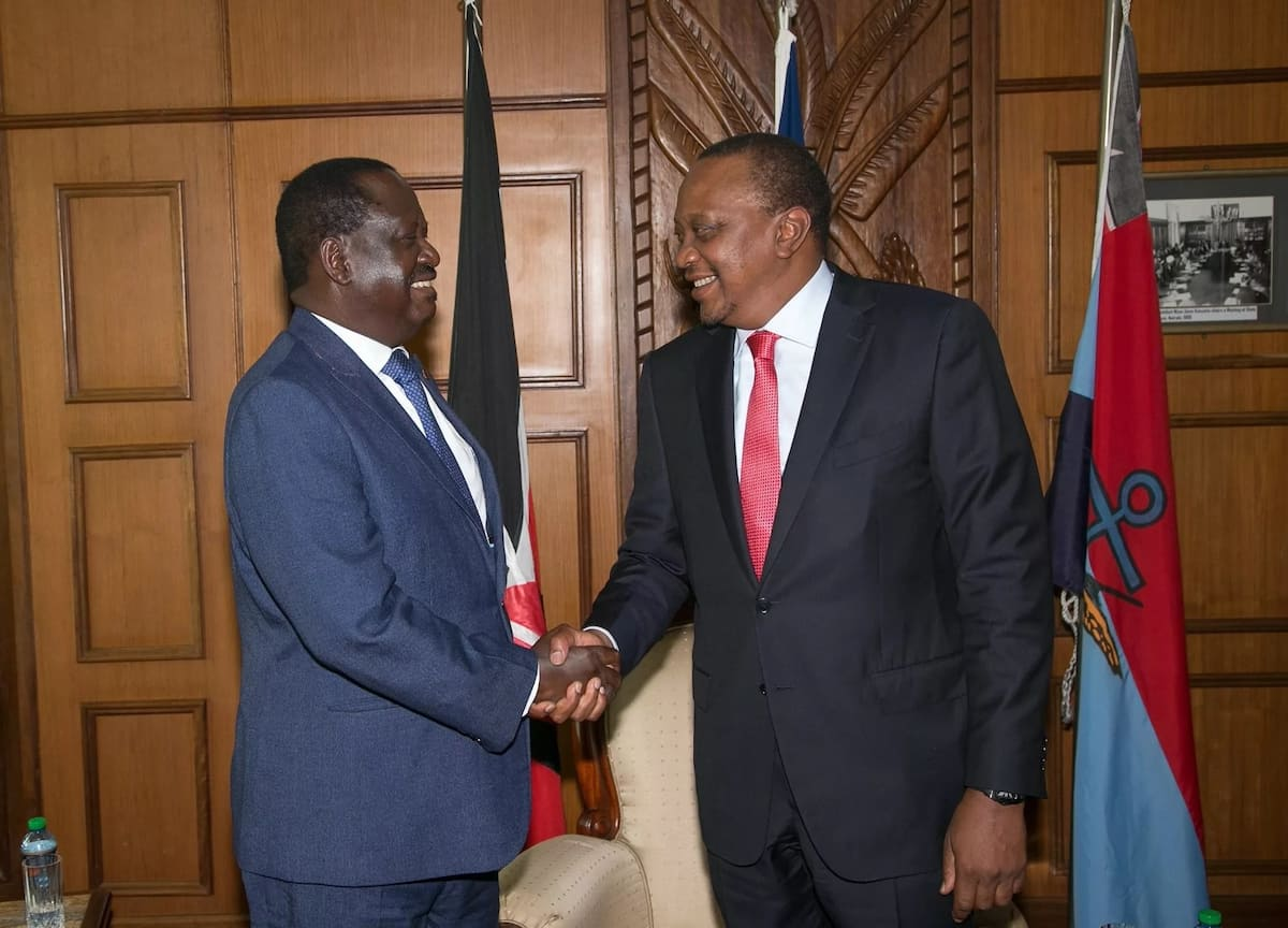 President UHURU'S big vision for KENYA pushed him to meet RAILA