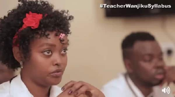 If you want to laugh just watch Teacher Wanjiku's new funny video