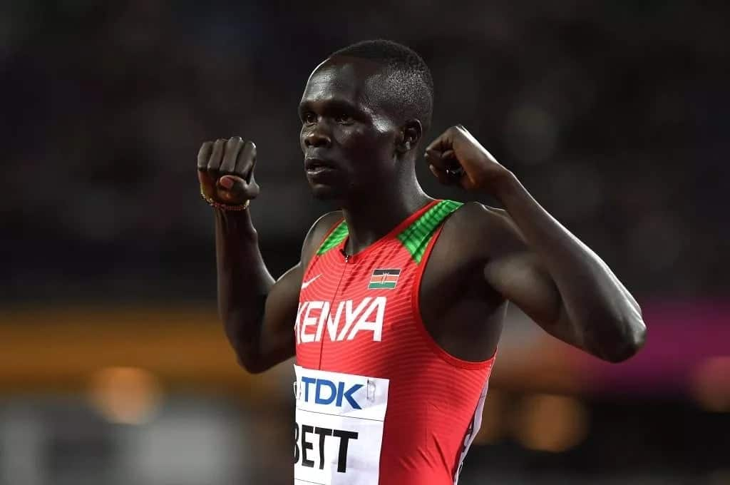 Kenyan athlete Kipyegon Bett charged with doping offence, could face four year ban