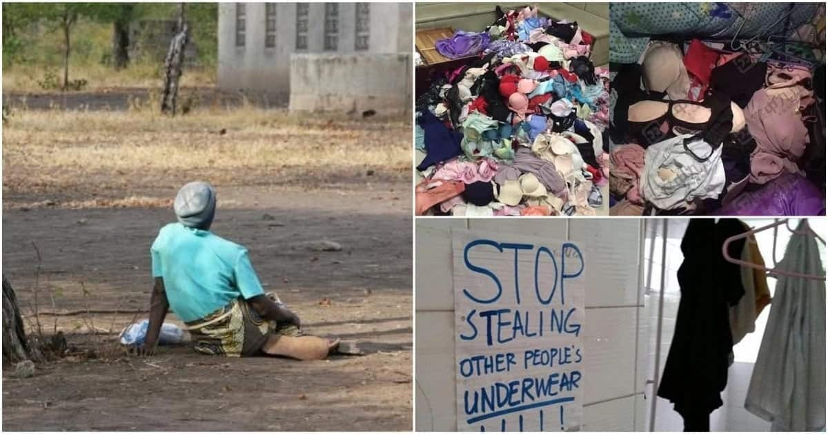 Mother and son busted stealing neighbours' underwear in Kakamega