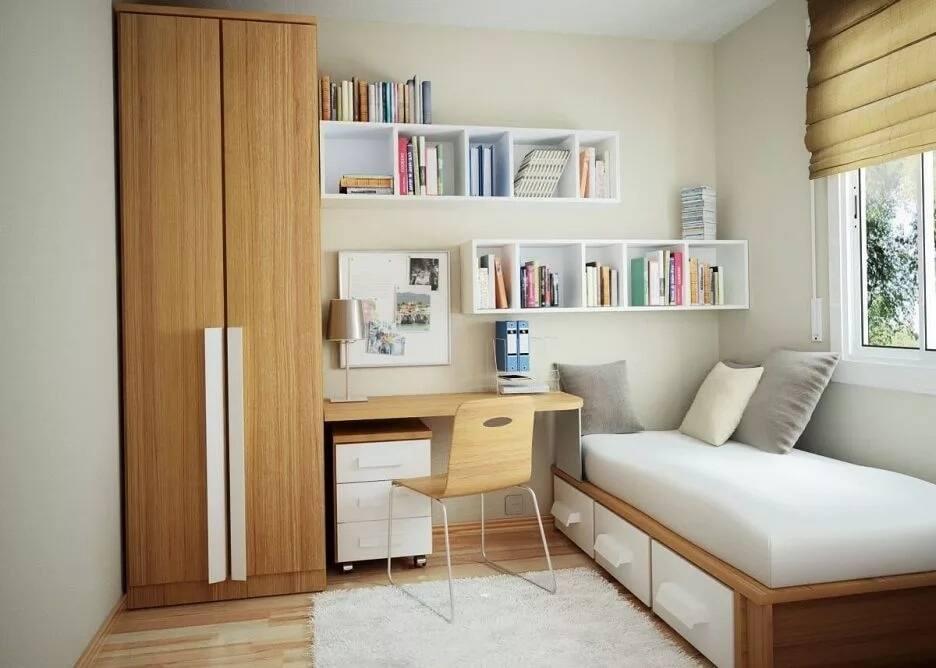 How to arrange a bedsitter room