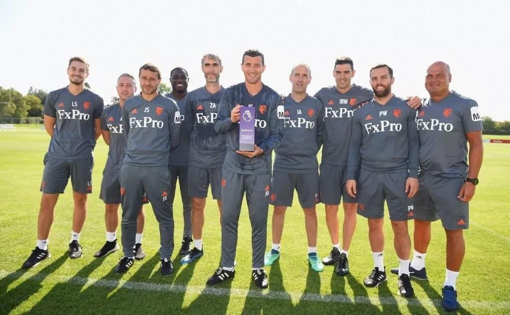 Lucas Moura, Javi Gracia crowned win Premier League player and manager of the month