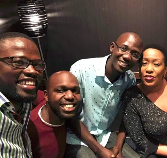 Larry Madowo celebrates birthday in styke as he turns a year older and TUKO.co.ke has all the photos