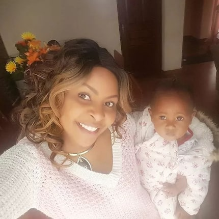 Size 8 celebrates her precious daughter as she starts school