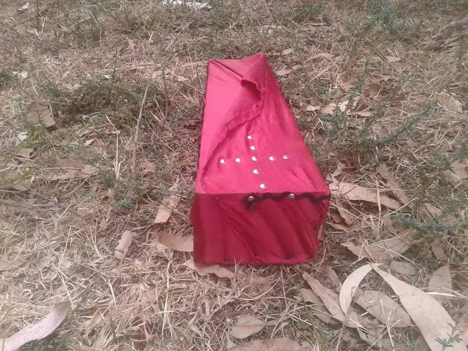 Lugari family in shock after finding coffin dumped in their home