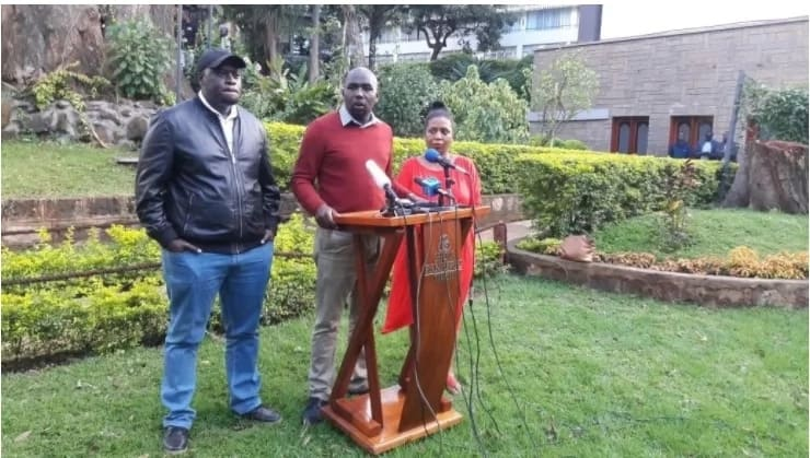 Sakaja will face disciplinary action for 'saving' NASA MP - Moses Kuria