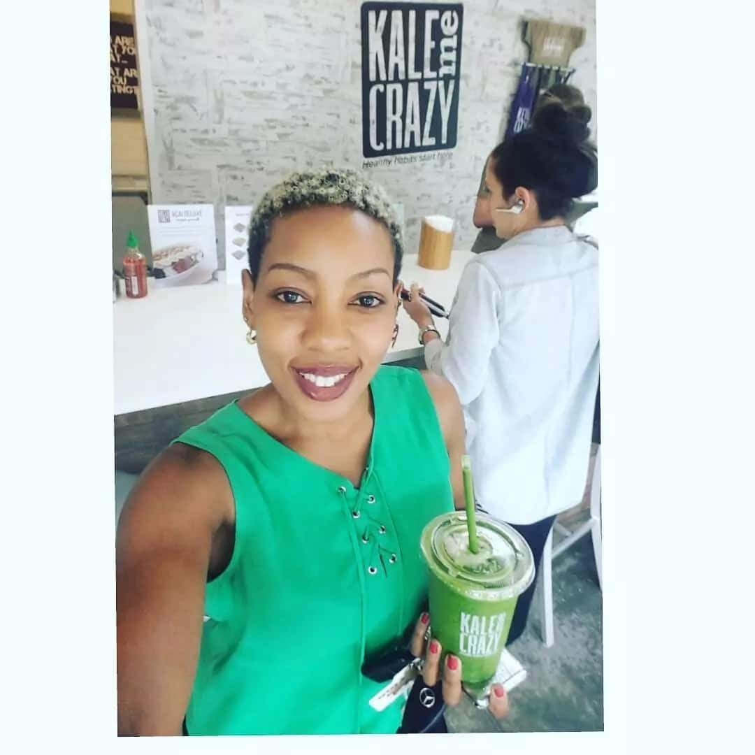 Forget Willis Raburu's female gym instructor, this gym enthusiast is the real definition of a fit lady
