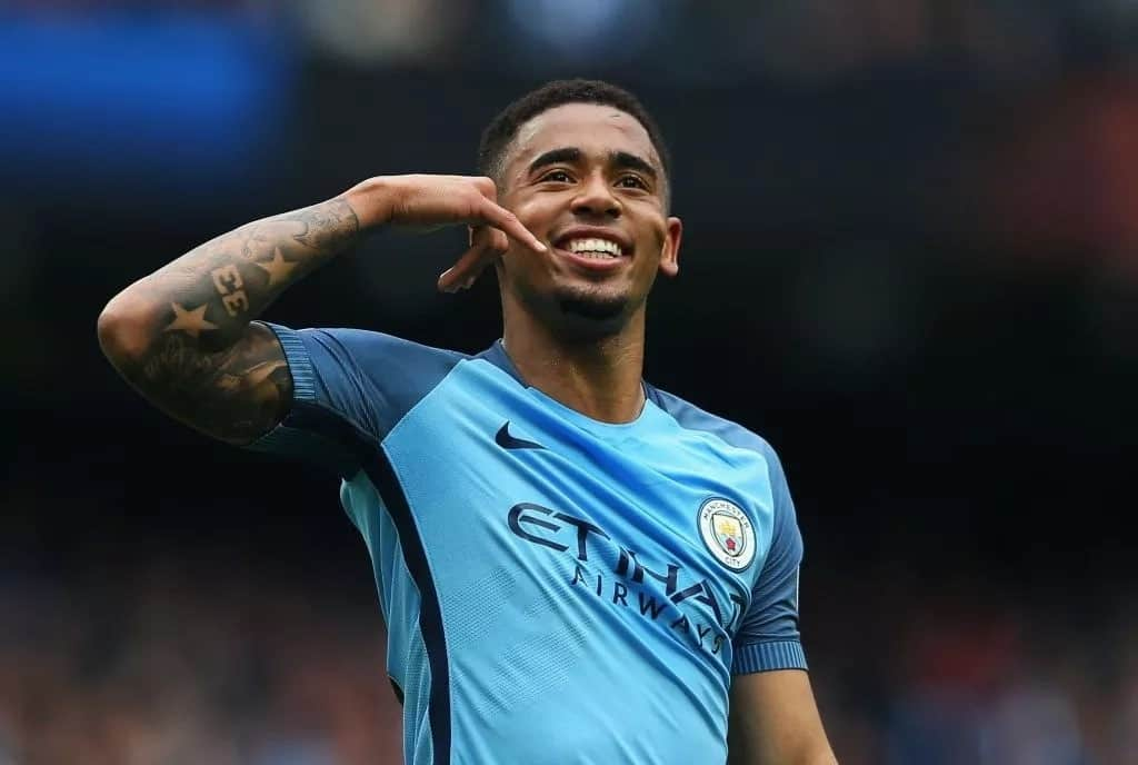 Gabriel Jesus signs new two year deal with Man City, to earn KSh 13 million-a-week