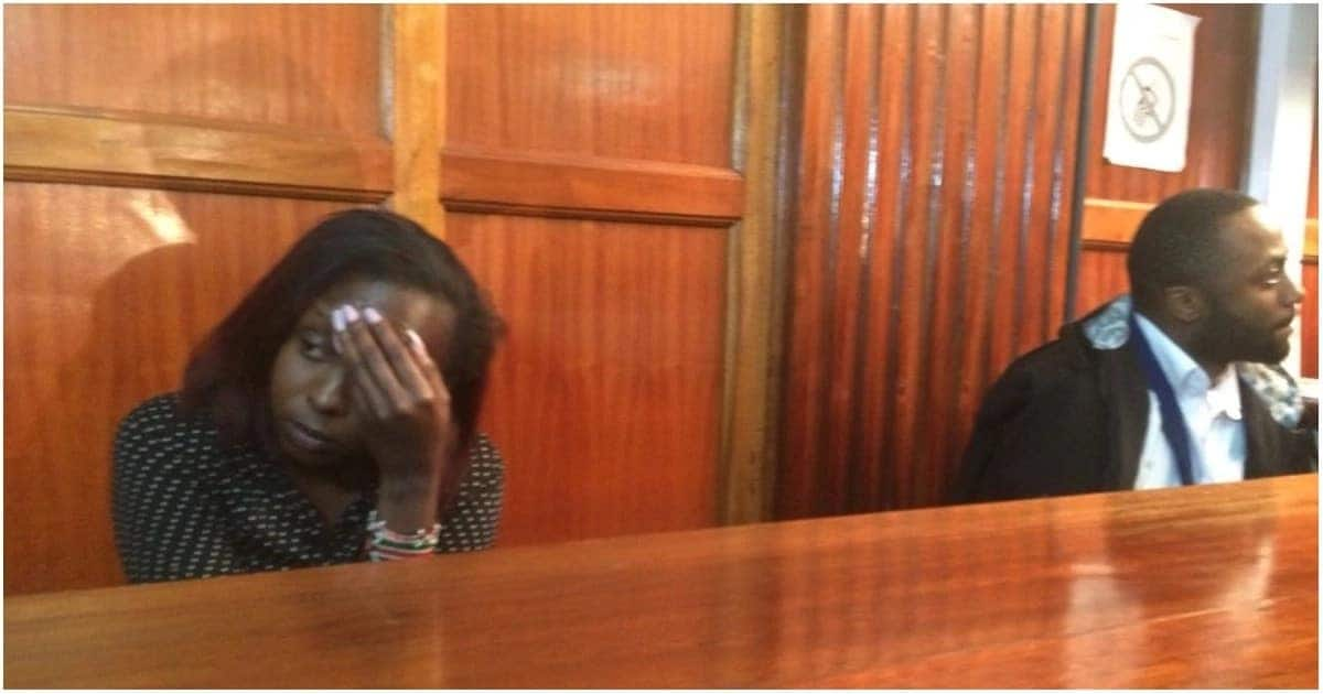 TV girl Jacque Maribe and lover remanded for 6 days pending plea