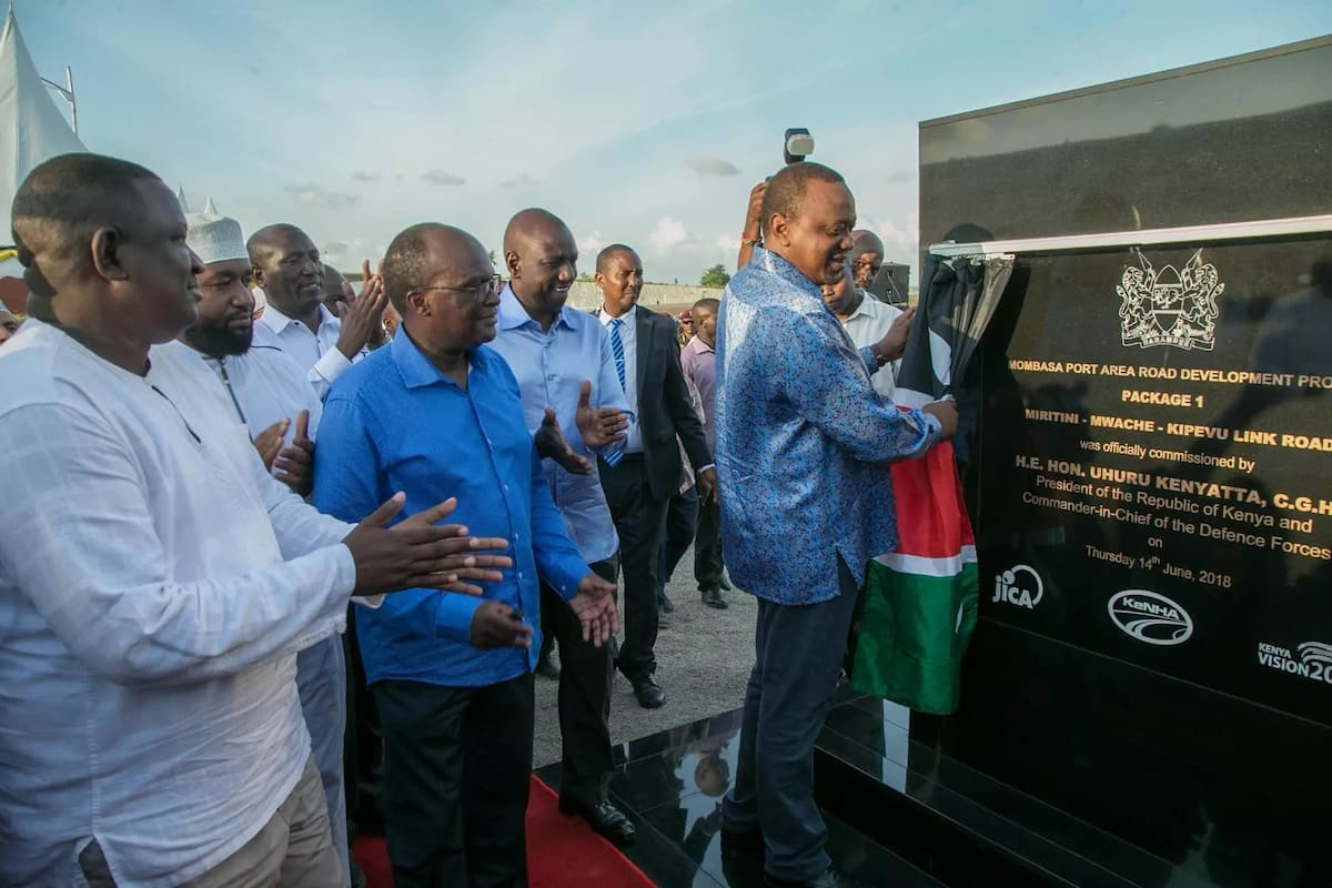 Uhuru finally opens Dongo Kundu bypass to the public, 3 years after it was proposed