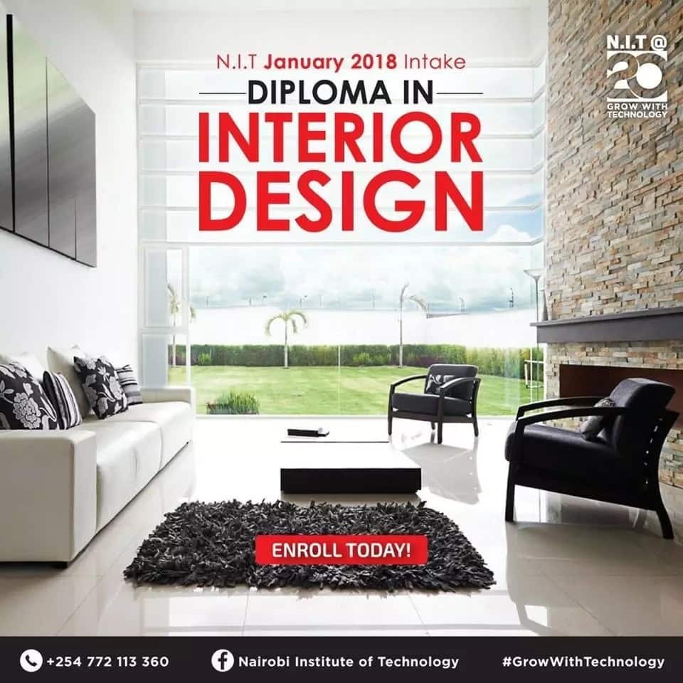 interior design schools in Kenya
