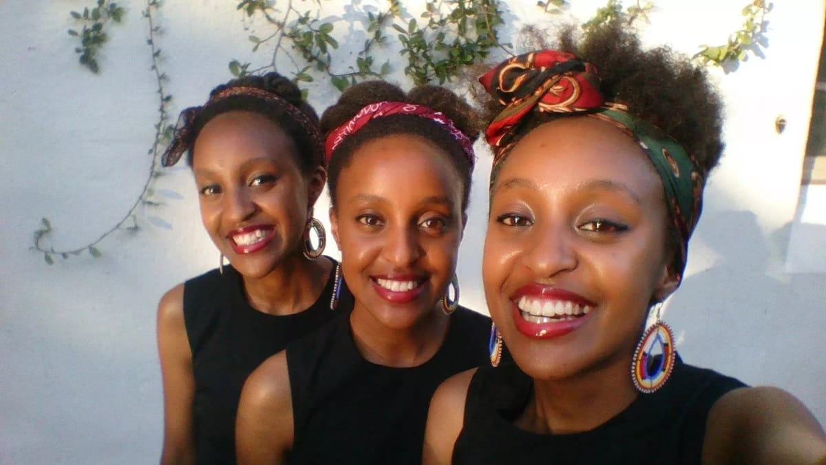 Kenya's singing sensation triplets, Moipei, graduate at US university with first class honours in Music