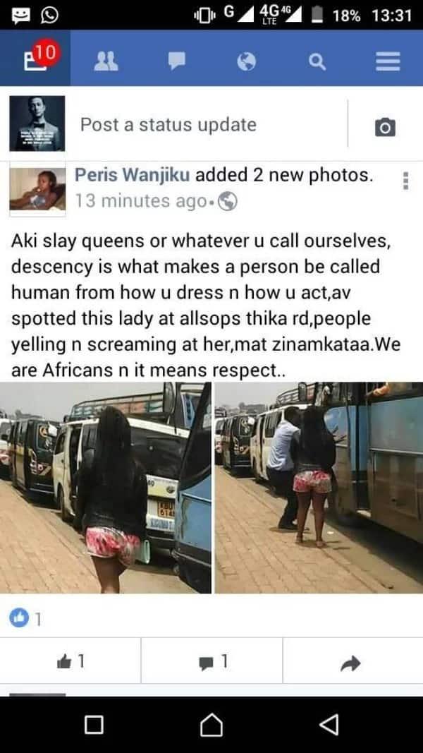 'Slay queen' akataliwa kubebwa na gari la usafiri kwa kuvalia mavazi yasio ya kiheshima