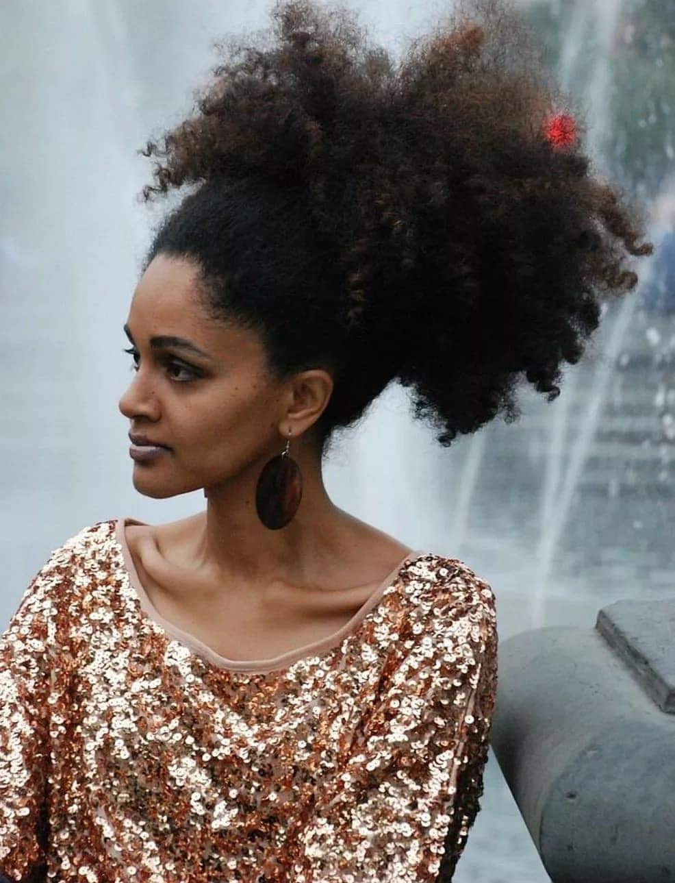 Hairstyles with afro kinky hair