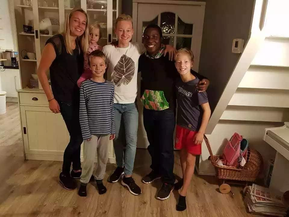 Sportpesa jackpot winner eating life with a big spoon in Netherlands