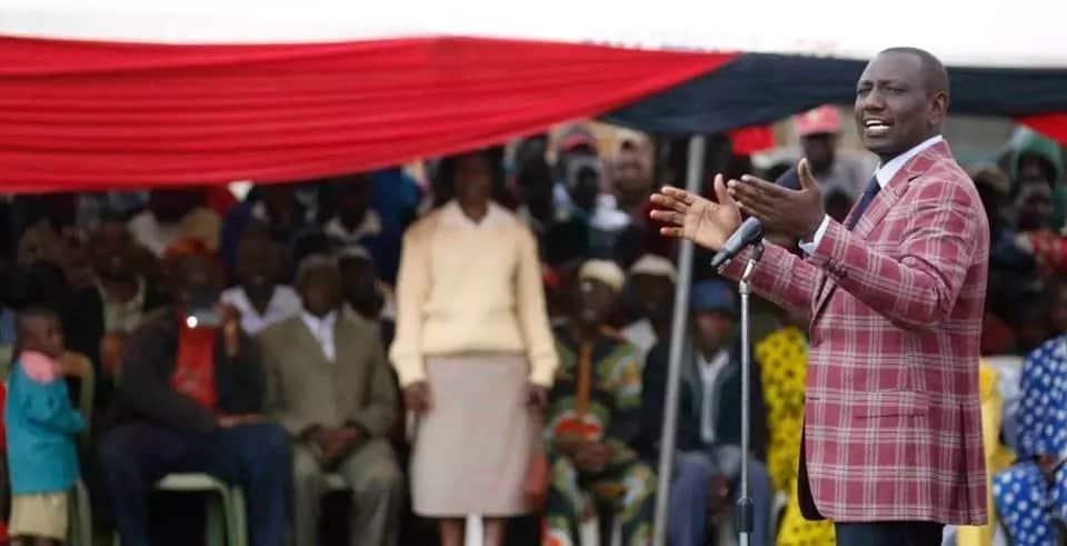 William Ruto dismisses Raila's criticisim of his kutangatanga