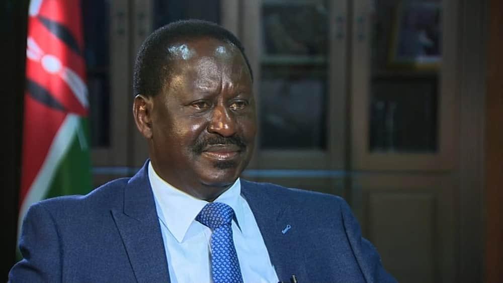 Orange Democratic Movement leader Raila Odinga. Photo: ODM