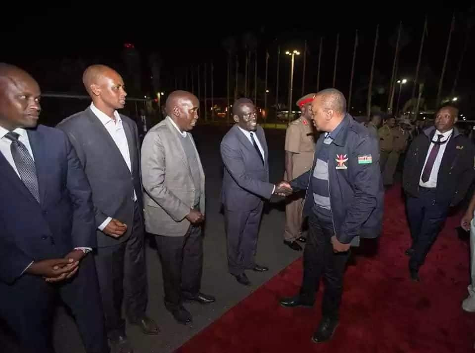 Uhuru in China for trade talks days after hosting UK PM Theresa May