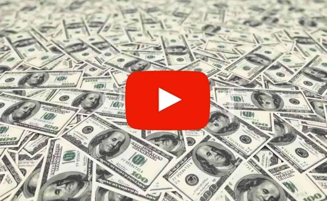 How does YouTube pay YouTubers