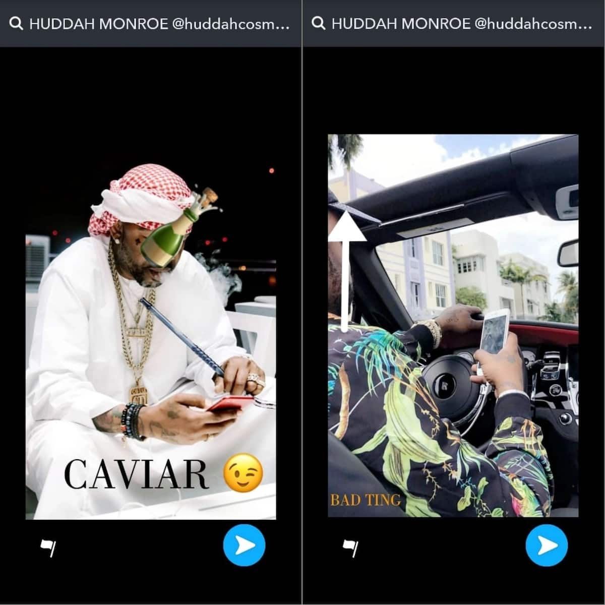 Is this her new lover? Huddah unveils handsome Arab man