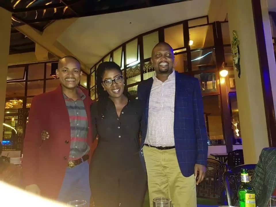 Mixed reactions as Moses Kuria and Babu Owino appear in public together after their many fights