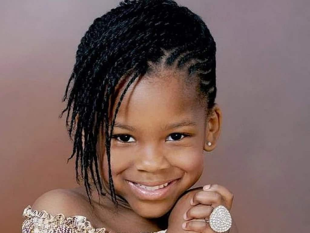 25 Cutest Kids Hairstyles For Girls Tuko Co Ke