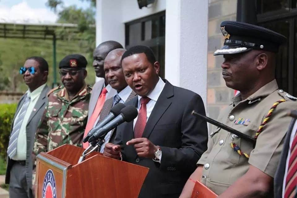 School buses found in Machakos past 7pm to be fined KSh 50k - Governor Mutua