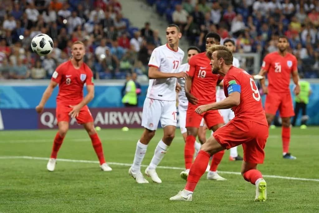 Naodha wa England Harry Kane asaidia timu yake kucharaza Tunisia 2-1