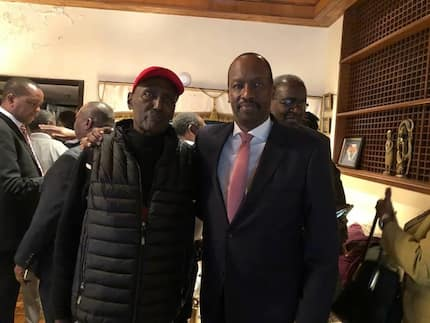 Chris Kirubi on recovery path after treatment in US for acute cancer of the colon