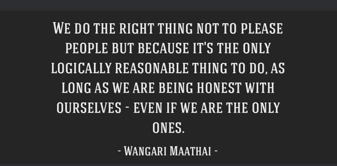 Quotes by wangari maathai, Wangari maathai ispirational quotes, Dr. wangari maathai quotes