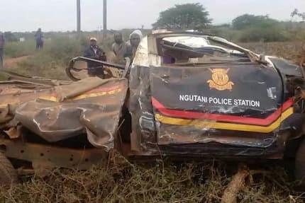 Maafisa wa polisi wafariki katika ajali mbaya