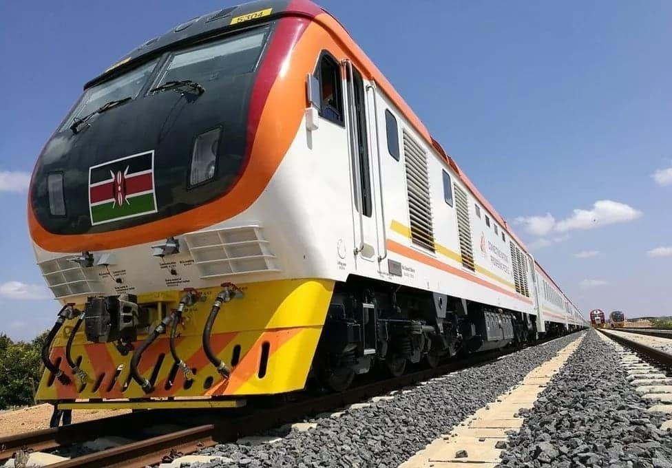 New SGR train schedule in Kenya