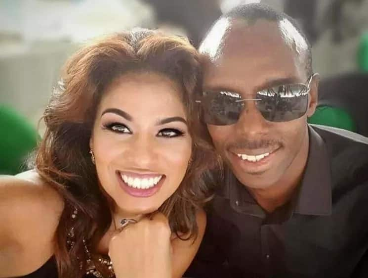 Julie Gichuru husband photos