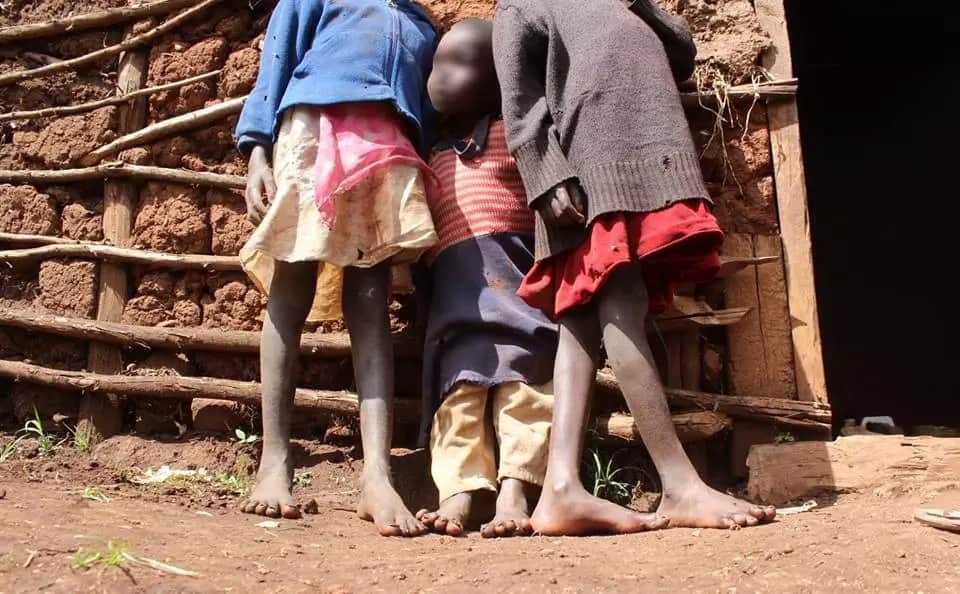 Couple arrested for neglecting their 6 children who've been infested by jiggers