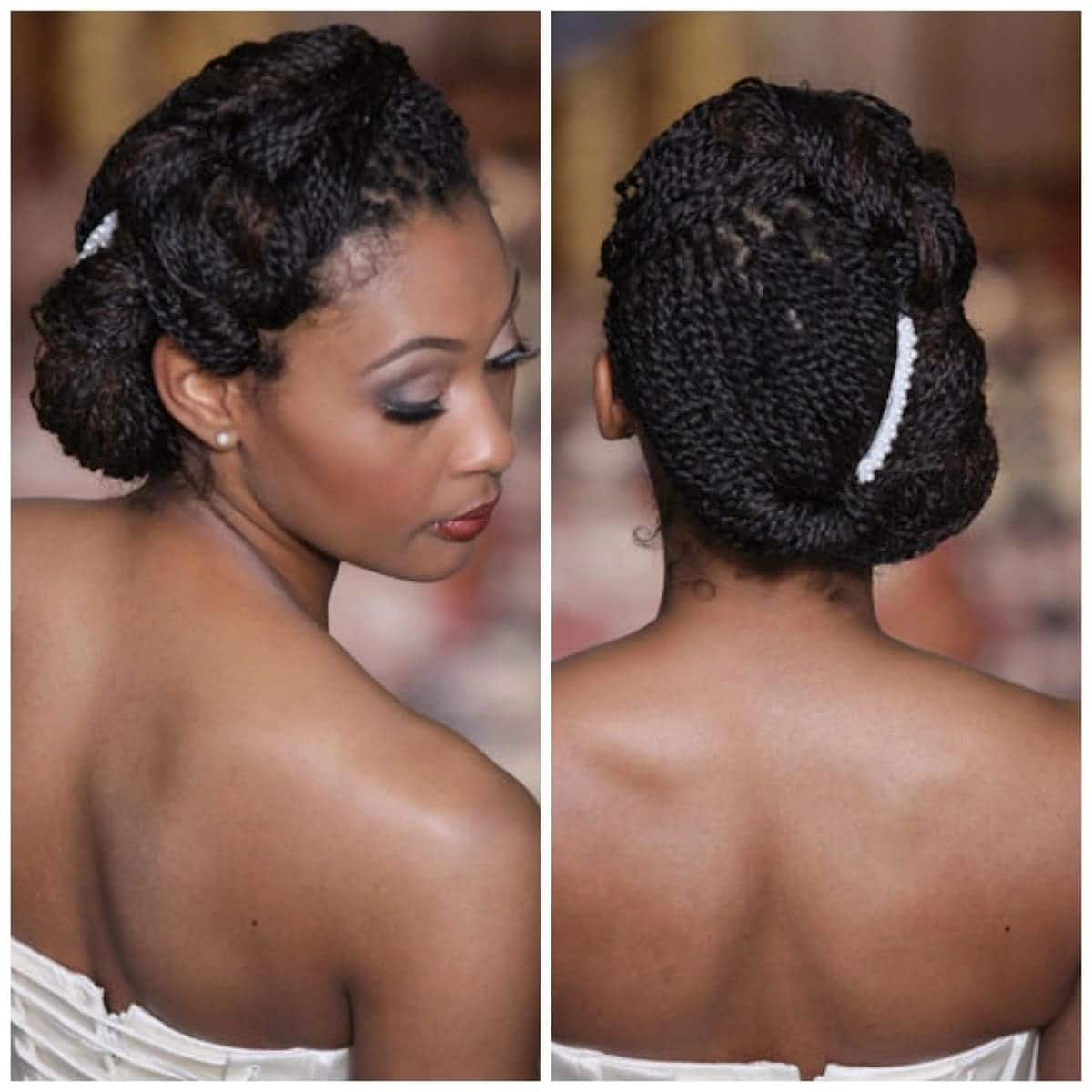 wedding hairstyles in Kenya