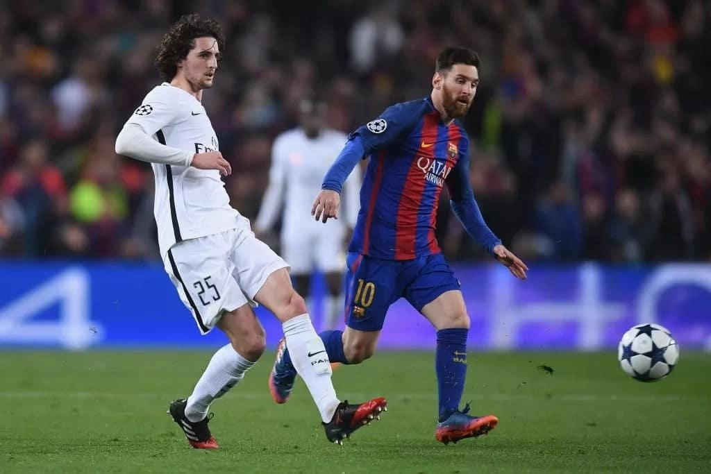 Barcelona agree deal to sign PSG star Adrien Rabiot
