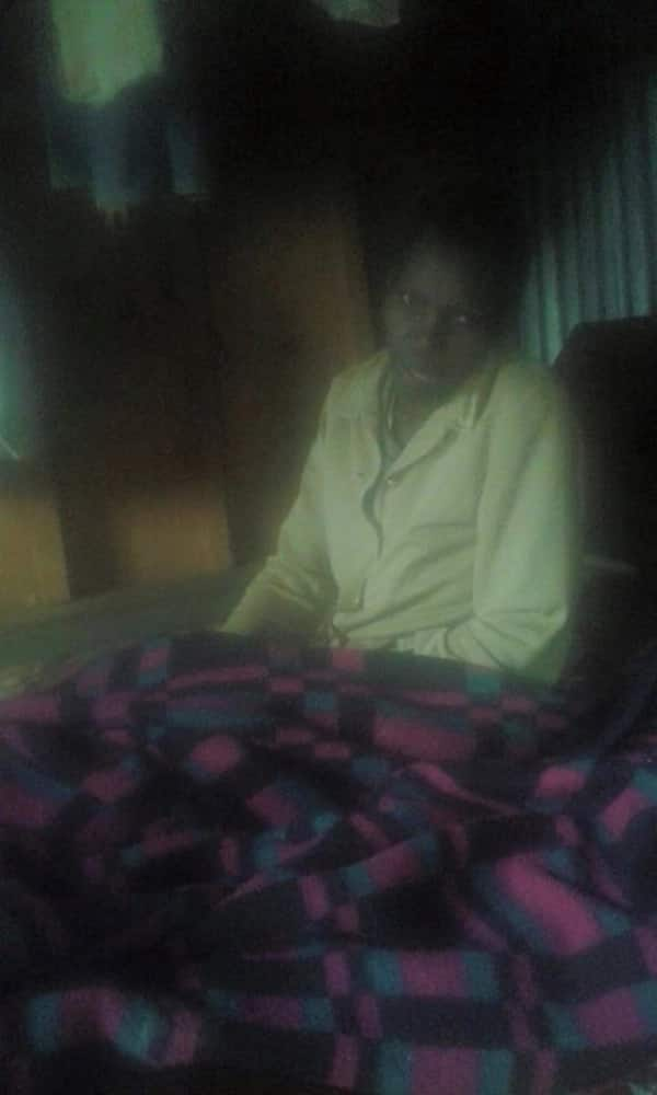 Visually impaired, paralysed Kiambu woman appeals for wheelchair from well-wishers