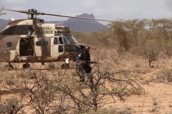 Al-Shabaab raid KDF base in southern Somalia, casualties reported