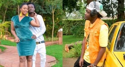 Bahati and Diana trolled yet again after singer shared photo showing him looking younger than wife