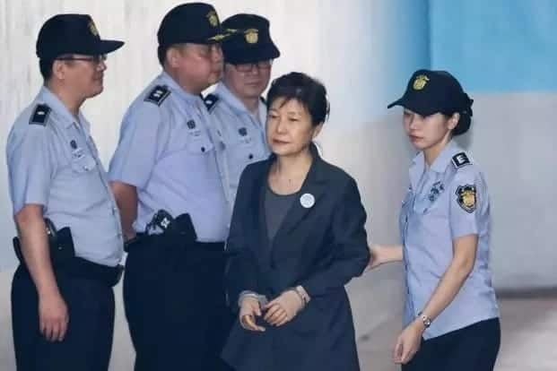 Ex-South Korea president jail term rises to 32 years over corruption charges