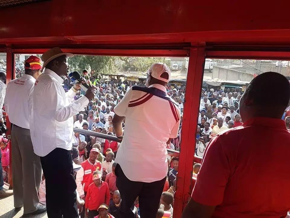 Once we reelect Uhuru Kenyatta, you will know this Kenya has its owner Mandaga tells Raila
